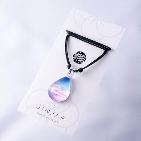 【秋限定】 FUJI LAKE <JINJAR GLASS JEWELRY> [JPMW-029]