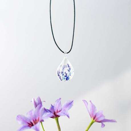 ドロップMサイズ Flower Pattern Purple [NDM-P2-023]