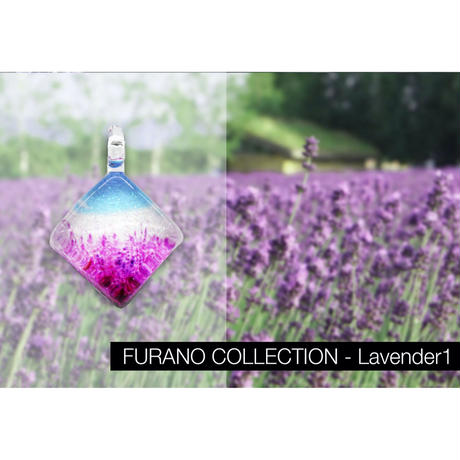 スクエアMサイズ FURANO COLLECTION Lavender1 [NSM-P2-007]