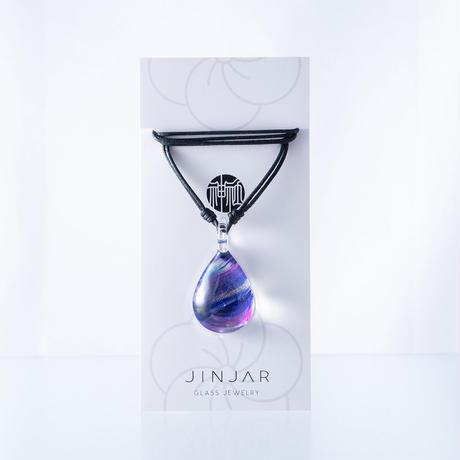 【期間限定】 Purple Brush<JINJAR GLASS JEWELRY> [JPMW-030]