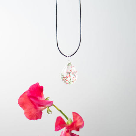 ドロップMサイズ Flower Pattern Pink [NDM-P-014]