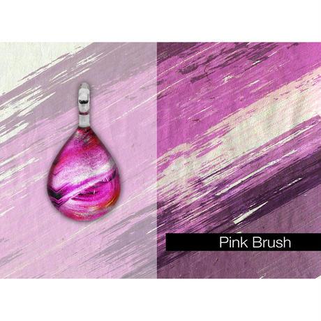 【期間限定】 Pink Brush<JINJAR GLASS JEWELRY> [JPMW-033]