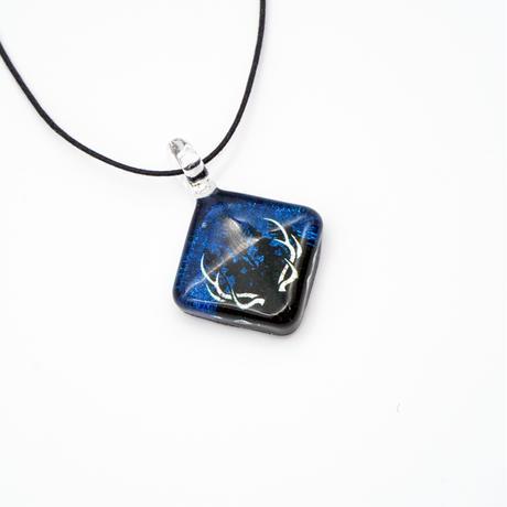 スクエアMサイズ EZOSIKA HORN - BLUE