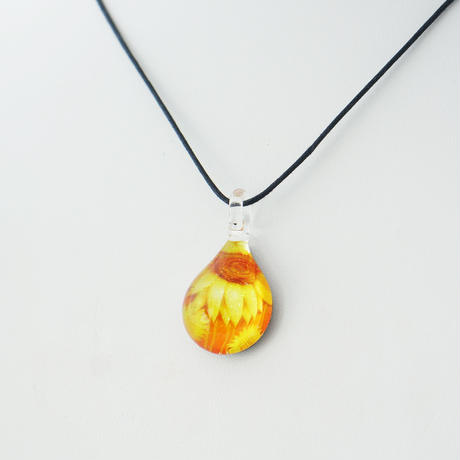 【母の月ギフト】 Sun Flower & タオルハンカチ セット