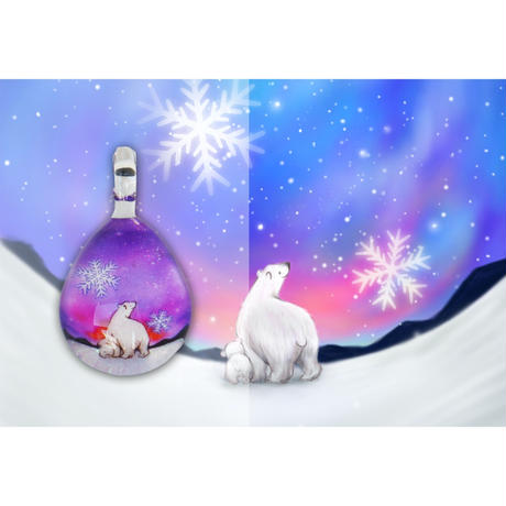 ドロップMサイズ Polar Bear Snow [NDM-P2-102]