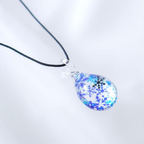 ドロップMサイズ Blue Snow Pattern [NDM-B-040]