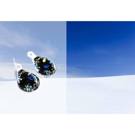ピアスMサイズ Falling Snow [PD-B-011]