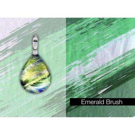 【期間限定】 Emerald Brush<JINJAR GLASS JEWELRY> [JPMW-032]