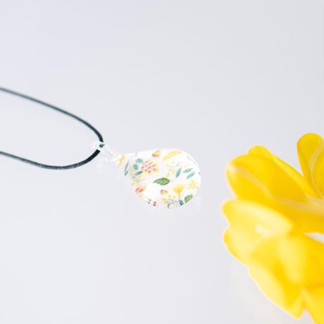 ドロップMサイズ Flower Pattern Yellow [NDM-Y-003]