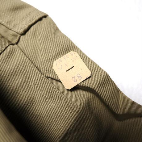NOS 40's WWⅡUS ARMY Shirts, Cotton, Khaki (16×33) デッドストック チノシャツ