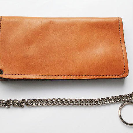 NOS 70's LEATHER BY DEAK Trucker's wallet デッドストック トラッカーズウォレット