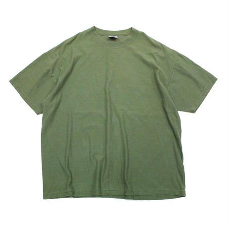 90's ONEITA PLAIN T-SHIRTS MADE IN USA (XXL) オニータ ボーダー コットン Tシャツ 無地