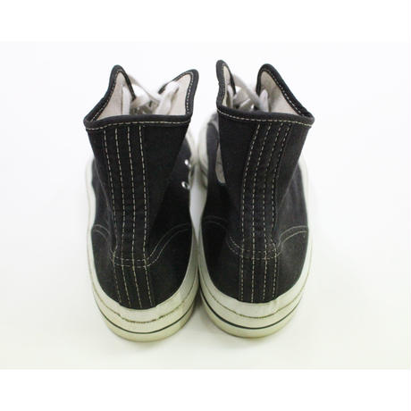 NOS 70's Unknow Canvas Sneaker Black (11 1/2) デッドストック キャンバススニーカー 黒