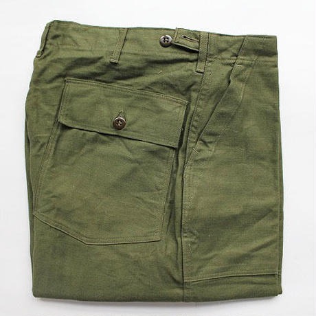 NOS 50's TROUSERS, MEN'S, COTTON, SATEEN,SHADE 107 (L) デッドストック ベイカーパンツ 1st