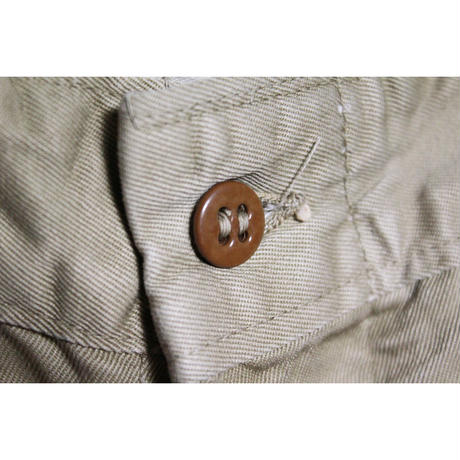50's U.S.ARMY TROUSERS,COTTON,KHAKI (36)  コットン チノパンツ M-52