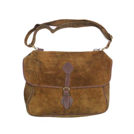 70′s L.L.BEAN Bean's Suede Musette Bag 筆記体タグ スエード ショルダーバッグ ミュゼットバッグ