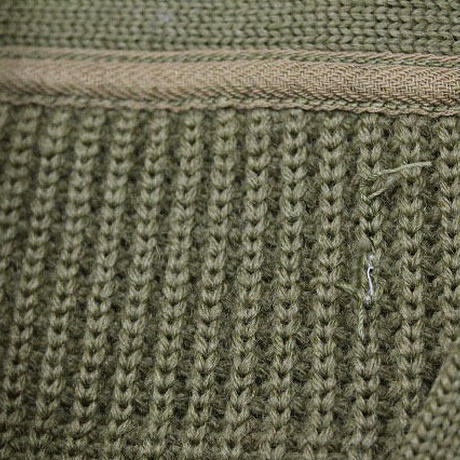 40's USAAF WWII TYPE A-1 V-Neck Wool Knit Sweater Vネック ニットセーター