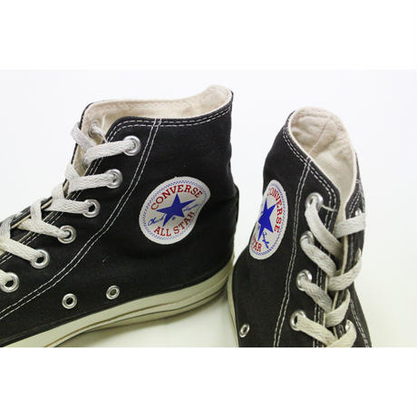 90's CONVERSE ALL STAR HI BLK MADE IN USA (8) コンバース オールスター 黒 26.5cm