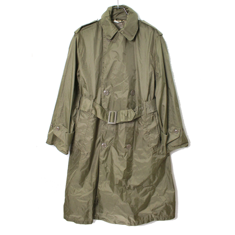 NOS? 60's U.S.ARMY RAINCOAT, MAN'S, LIGHTWEIGHT, TAUPE SHADE 179 (SHORT-34) デッドストック?  レインコート