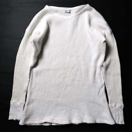 50's Gordon COTTON THERMAL UNDERWEAR (XL) ゴードン サーマルシャツ 白