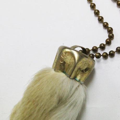 50's~ Rabbit Foot Key Chain LUCKY CHARM ラビットフット キー チェーン ラッキーチャーム