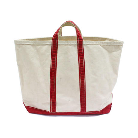 70's〜 Unknow Canvas Tote Bag Red キャンバス トートバッグ 赤