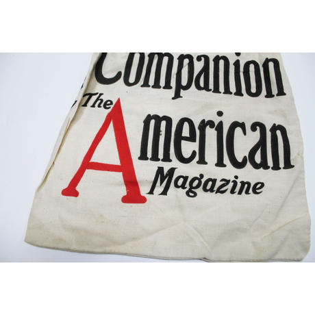 NOS 〜50's Women's Home Companion & Collier's Canvas Magazine Bag デッドストック マガジンバッグ