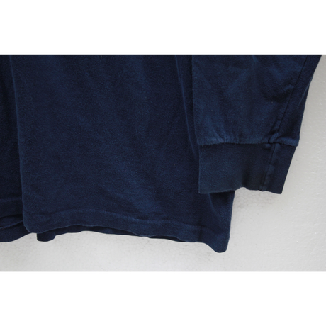 90's TOWNCRAFT Cotton L/S T-Shirts with Pocket Navy (XL) JCペニー タウンクラフト  コットン ポケット ロングスリーブTシャツ  紺