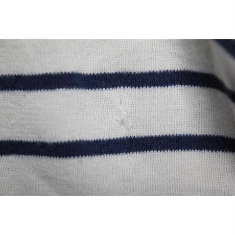 80's duofold Straiped Turtle Neck  L/S T-Shirts  (XL) デュオフォールド ボーダー タートルネック ロングスリーブ Tシャツ
