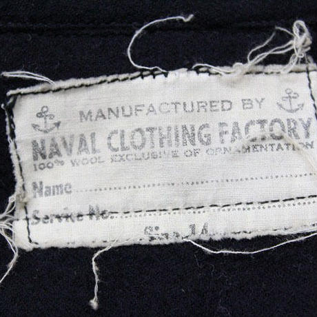 40's NAVAL CLOTHING FACTORY ONE-POCKET CPO WOOL SHIRT (14) 片ポケ CPO ウールシャツ