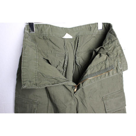 60's TROUSERS MEN'S COTTON WIND RESISTANT RIP STOP POPLIN OG 107 CLASS1 (S-R) ジャングルファテーグ パンツ 4th