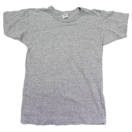 80's CHAMPION PLAIN T-SHIRTS HEATHER GREY (M) チャンピオン Tシャツ 無地 灰