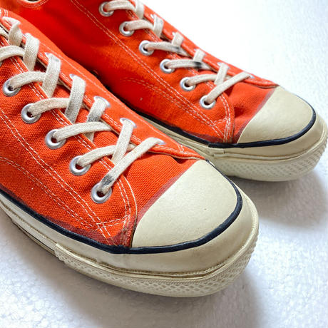70's CONVERSE CHUCK TAYLOR CANVAS SHOES (12) コンバース  チャックテイラー キャンバススニーカー  オレンジ