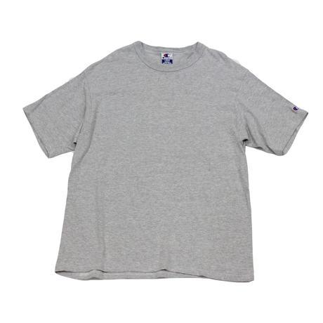 90's CHAMPION PLAIN T-SHIRTS (L) チャンピオン コットン Tシャツ 無地  霜降りグレー