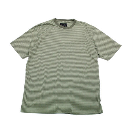 90's〜 Eddie Bauer STRIPED COTTON T-SHIRT (M) エディーバウアー コットン ボーダーTシャツ