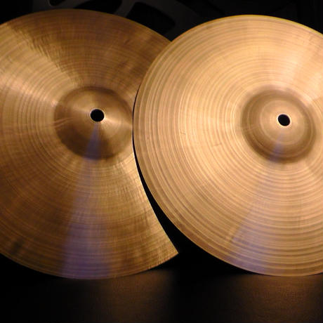 "12"" no stamp cymbal (2枚セット)"
