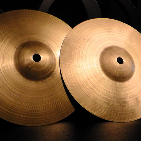 "8"" no stamp cymbal (2枚セット)"