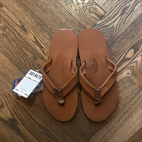 "New!!! ""RAINBOWSANDALS"" [301ALS Single Layer]TANレザー"