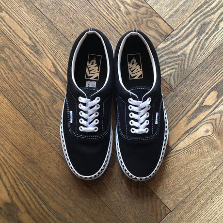 "New  ""Vans"" Era Check Foxing"