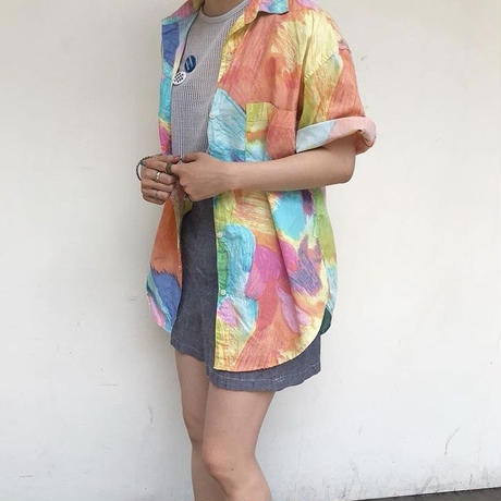 """80's """"ANDREW SPORTS""""  S/S shirt"""