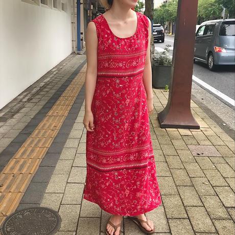 Pretty Pink 花柄ワンピース