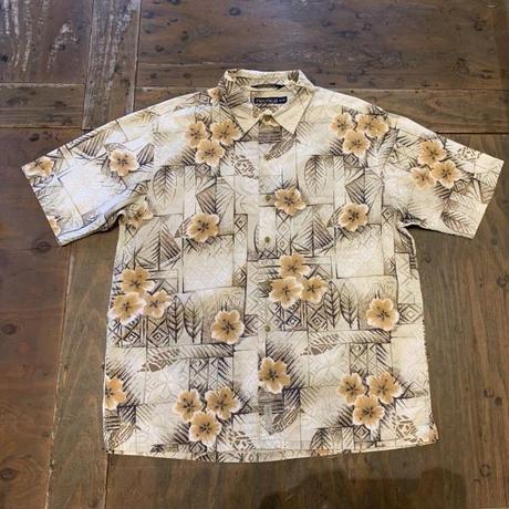 """90's """"NAUTICA"""" Cotton Aloha shirt"""