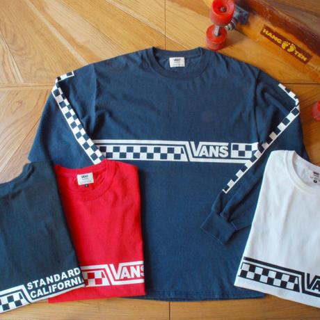 『VANS × SD Checker Logo Long Sleeve T』