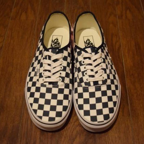 """NEW"" Vans!!!! Authentic(Checkerboard) USA企画"