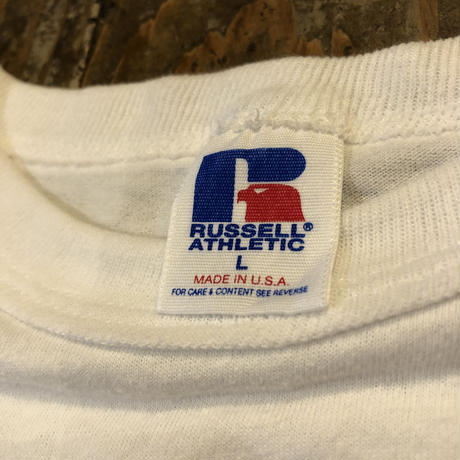 90's〜 RUSSELL カレッジ Tee MADE IN USA