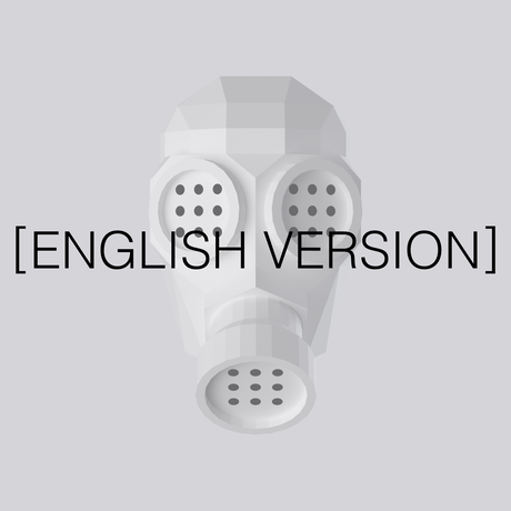 [ENGLISH VERSION] THE ONE | Paper Craft Gas Mask Template