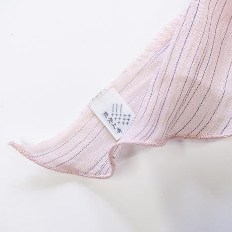 スカーフ / 雨絣 薄桜