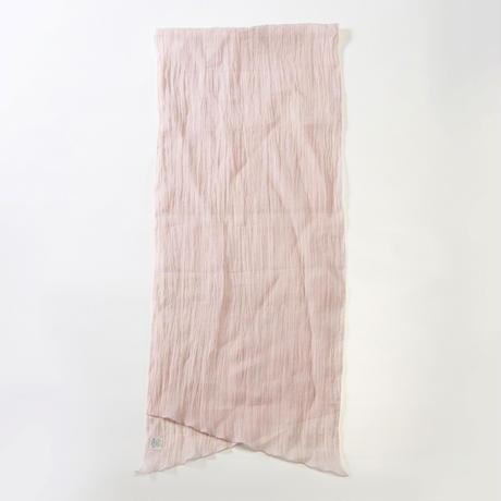 ストール / 雨絣 薄桜