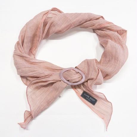 スカーフ / 万筋 縞 桜