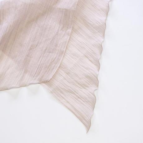 スカーフ / 雨絣 薄紅梅